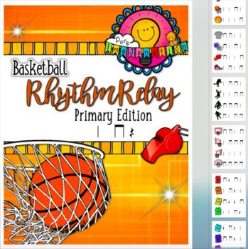 Bundled Set: Basketball Rhythm Relay & Trivia