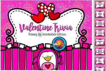 Bundled Set: Valentine's Day Rhythm Relay & Trivia