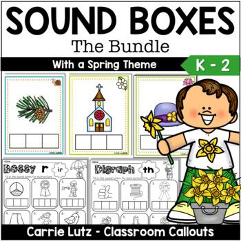 Sound Boxes The BUNDLE ~Short Vowels, Magic e, Bossy R, Digraphs