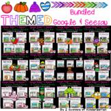 Bundled Thematic Math & ELA Google Slides & Seesaw Distanc