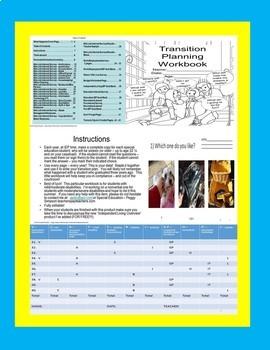 Special Education Bundled Transition Plans/Vocational Interest Read/No Read