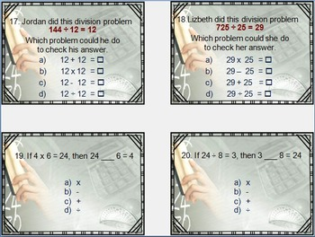 Bundled Triple Pack: Operations & Algebra in Multiplication & Division