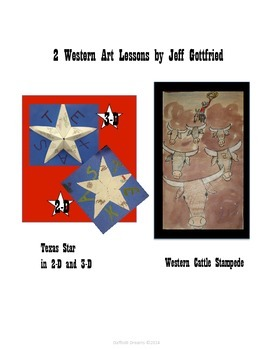 Bundled- Two Western Art Lessons for Kids