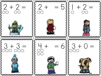 Winter Math and Literacy Activities {Bundled Up!}