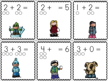 Winter Math and Literacy Activities {Bundled Up!}