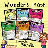 Bundled WONDERS 1st Grade Reading Strategies and Skills Resource