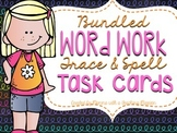 Bundled Word Work Trace and Spell Task Cards