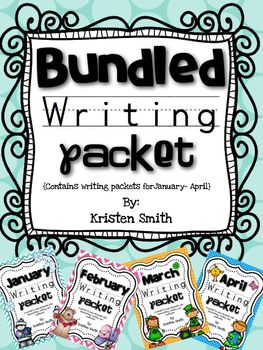 Bundled Writing Pack-- Helping students with handwriting and writing skills!