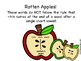 Bundled ch/tch, tion/sion, ge/dge  Apple Festival Literacy Centers