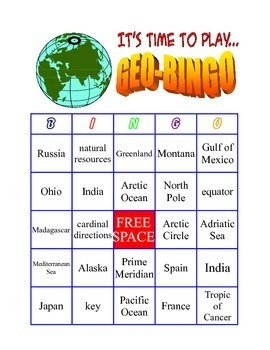 Latitude Longitude Games Bundled for Savings Amazing- Collection of 4