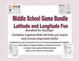 Latitude Longitude Games Bundle- Collection of 4