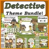 Bundled for Savings Detective Theme Classroom Pack