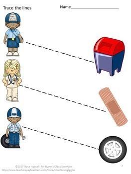 Bundles Fine Motor Skills Tracing Bundles P-K, K, Special Education, Autism