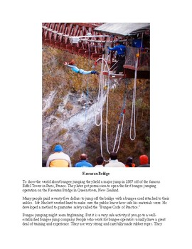 Bungy Jumping - The Thrill of a Lifetime!