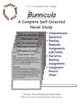 Bunnicula: A Complete Novel Study