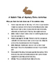 Bunnicula: A Rabbit-Tale Of Mystery by Deborah & James Howe Comprehension Packet