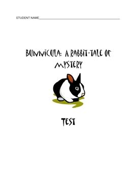 Bunnicula:  A Rabbit Tale of Mystery Test