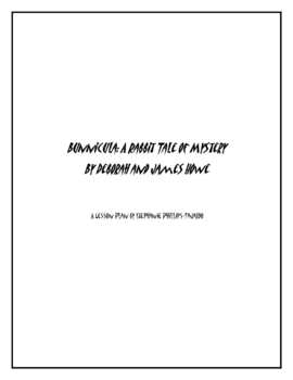Bunnicula:  A Rabbit Tale of Mystery Worksheets