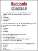 Bunnicula Chapter 4 Comprehension Questions