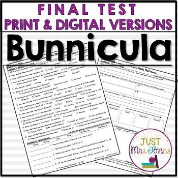 Bunnicula Final Test