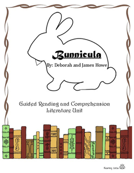 Bunnicula Guided Reading and Literature Unit