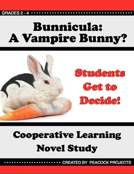 Bunnicula: Cooperative Learning Novel Study (90 Pages Included)