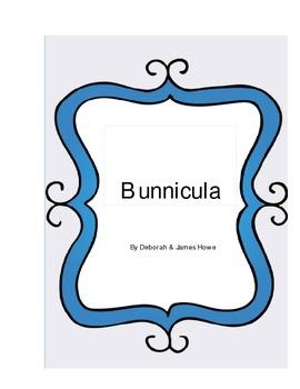 Bunnicula Literature Log