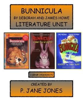 Bunnicula Literature Unit