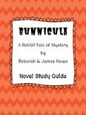 Bunnicula - Bunnicula Novel Study Guide