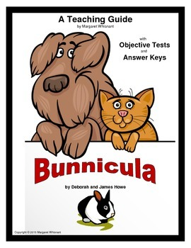 Bunnicula   Objective Tests Teaching Guide