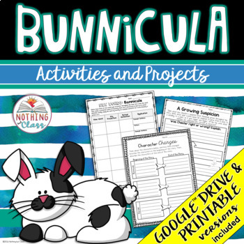 Bunnicula: Reading Response Activities and Projects