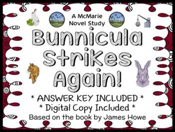 Bunnicula Strikes Again! (James Howe) Novel Study / Reading Comprehension