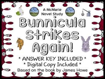 Bunnicula Strikes Again! (James Howe) Novel Study / Reading Comprehension