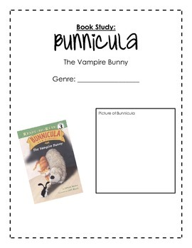 Bunnicula, The Vampire Bunny Book Study