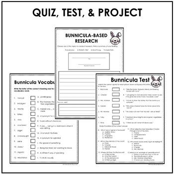Bunnicula Literacy Unit