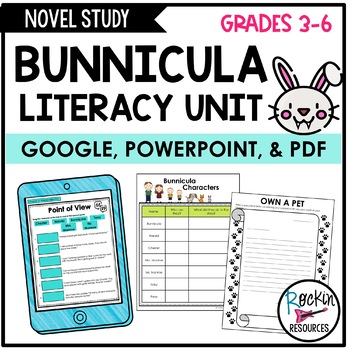 Bunnicula Literacy Unit