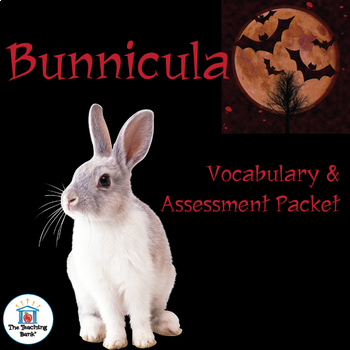 Bunnicula Vocabulary and Assessment Bundle