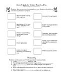 Bunnicula Vocabulary Homework Packet Ch. 3-5