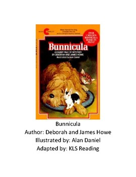 Bunnicula - adapted book chapter summary with review questions