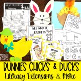 Bunnies, Chicks and Ducks a Springtime & Easter Unit   Distance Learning