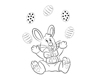 Bunnies Coloring Pack