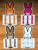 Bunnies Colors Sorting Mats