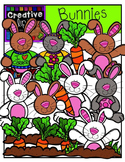 Bunnies! {Creative Clips Digital Clipart}