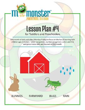 Bunnies, Farmyard, Bugs & Rain