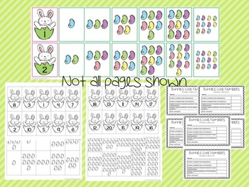 Counting/Ordering to 20 - Bunnies Love Jellybeans