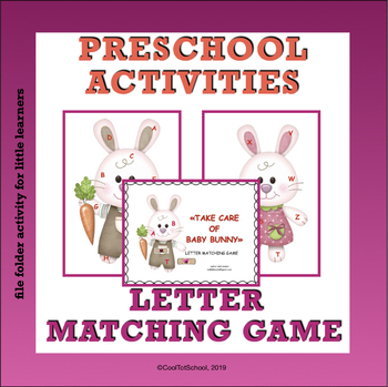 Bunnies - alphabet recognition game