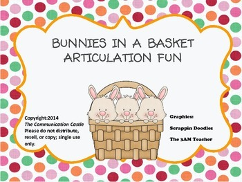 Bunnies in a Basket Articulation Fun