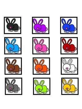 Bunnies vs. Flowers Category Sorting