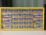 Bunnings Teacher Toolbox Labels   Watercolour Theme