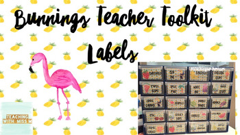 Bunnings Teacher Toolkit Ed... by Teaching with Miss M | Teachers ...